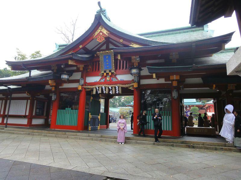 東京「日枝神社」は縁結びのパワースポット!結婚式場としても人気