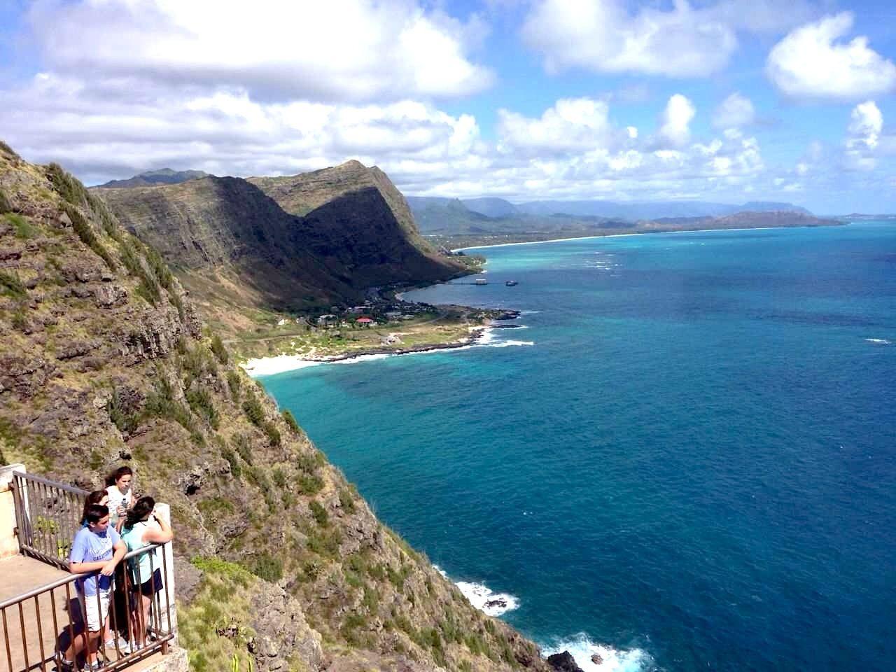 雄大な自然に感動!展望台から見るいつもと違うハワイ