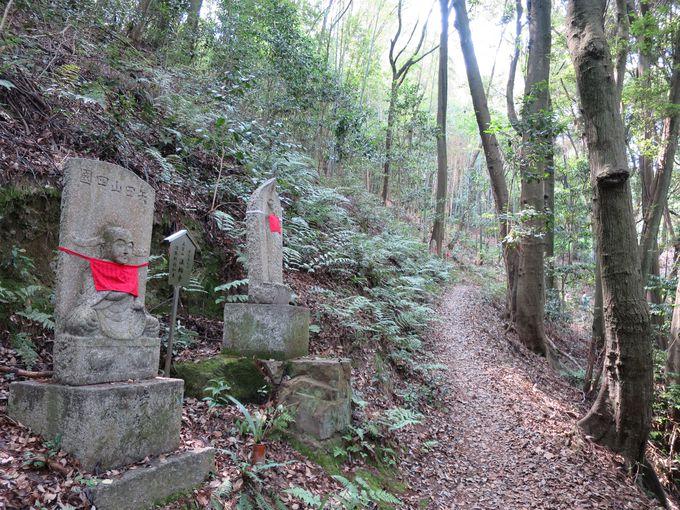 静寂の地蔵山(本堂裏山)で心を清める『八十八ヶ所霊場と石仏めぐり』