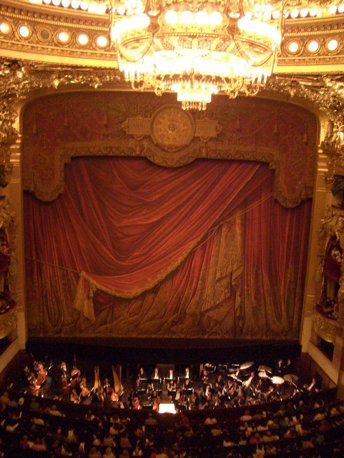 パリ・オペラ座、どの席を買う?