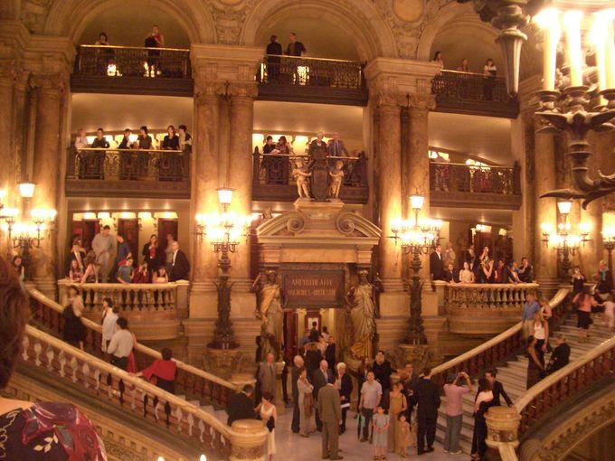 パリ・オペラ座、バレエ観劇の服装