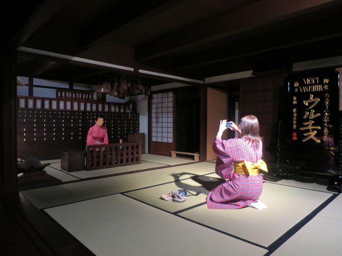 着物体験!江戸時代の町で写真撮影しませんか?