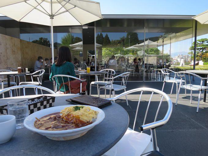 館内のカフェ・レストラン・ミュージアムショップ