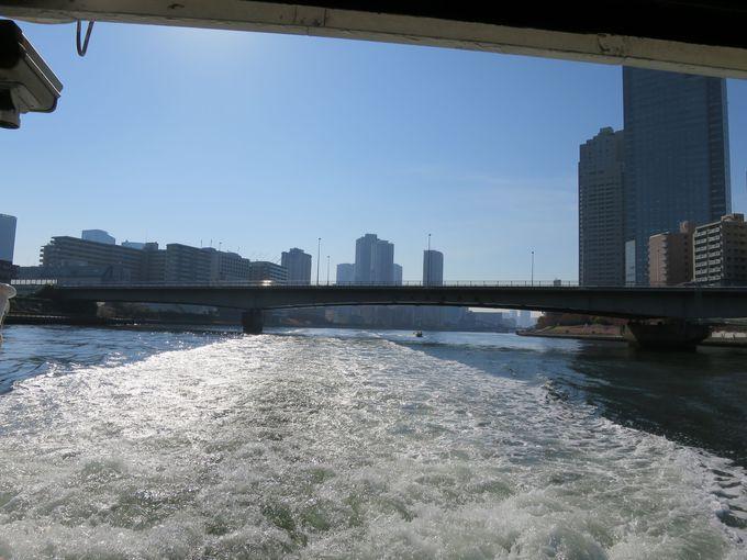 水上バスでTOKYO CRUISE『隅田川下り』