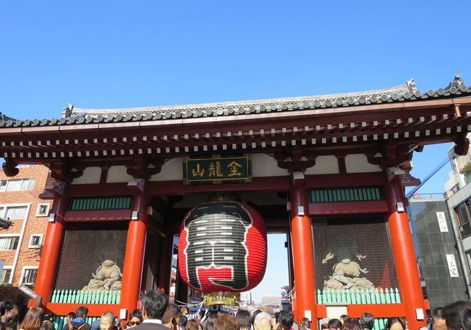 東京下町・浅草寺と周辺の散策