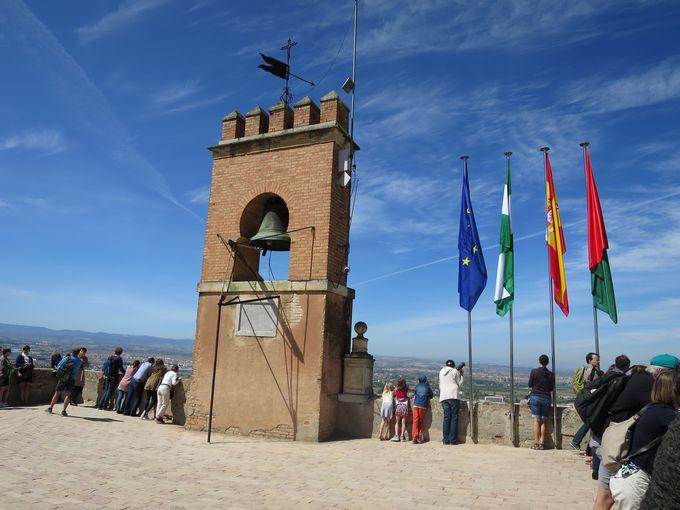 絶景!360度見渡せるベラの塔(見張り塔)とその後のグラナダ