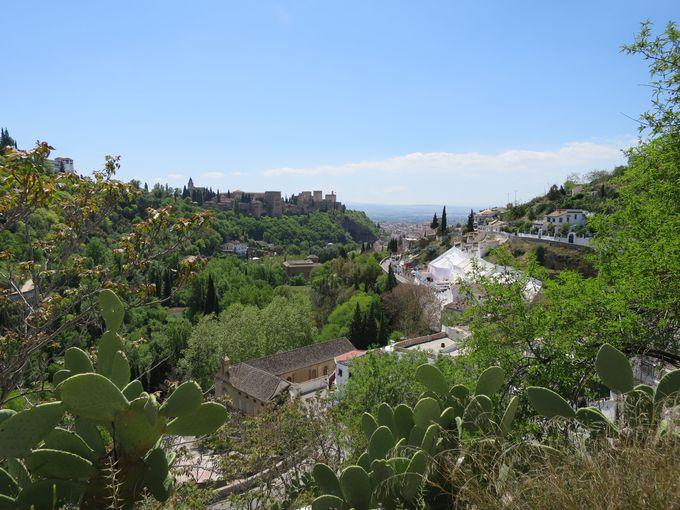 サクロモンテ洞窟博物館からの絶景