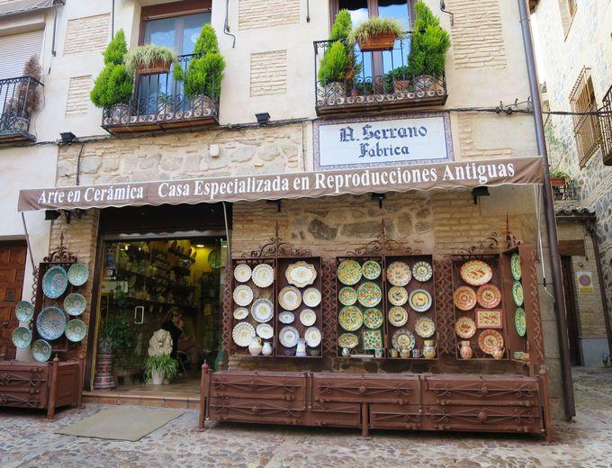 衝撃にめっぽう強い陶器のお店「Cerámica J Serrano」