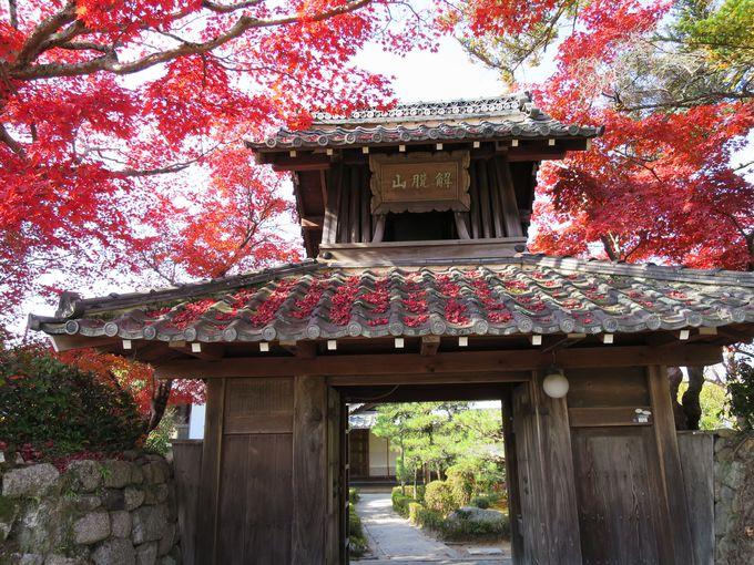 名庭と石仏のお寺、解脱山禅華院