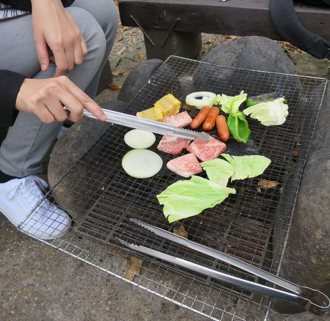 お肉が超美味!手軽に楽しめるバーベキュー広場
