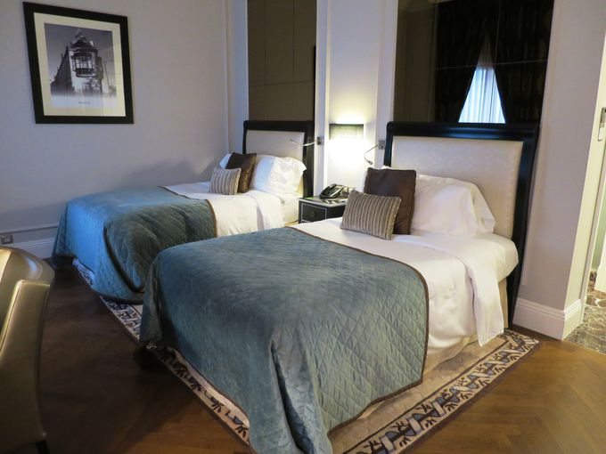 優雅で高級感あふれるお部屋は寝心地最高!
