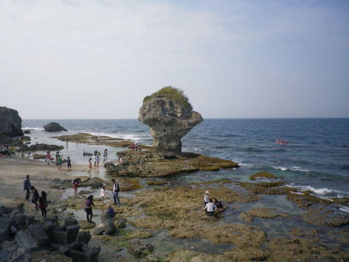 小琉球のランドマーク!花瓶岩