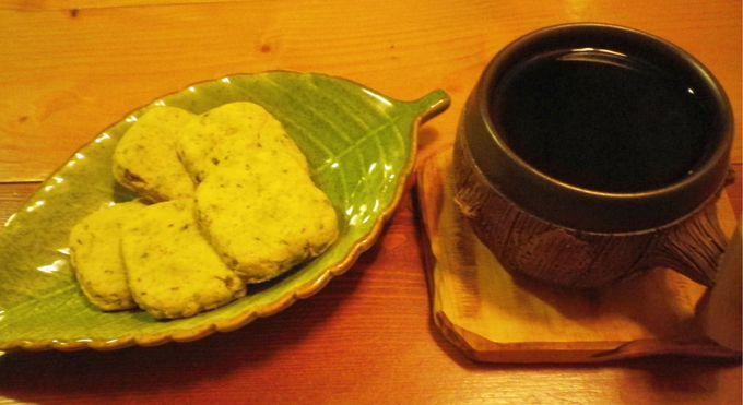 森林の味のコーヒー&スイーツ