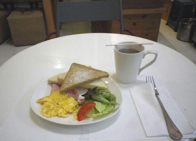 朝ごはんをチョイス!
