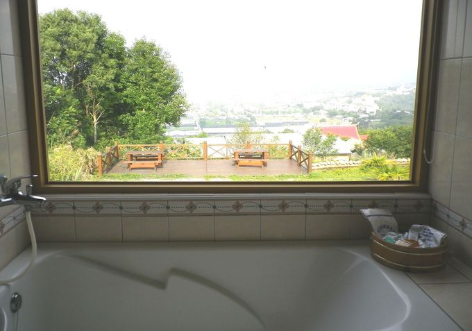 お風呂の窓から〜