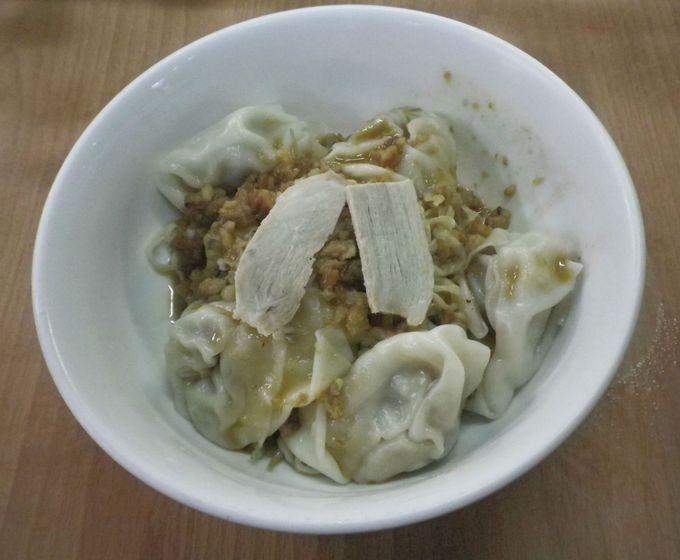 おススメワンタン麺