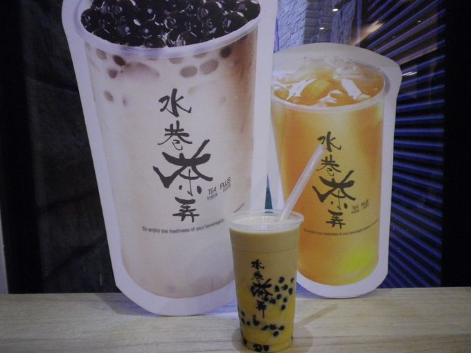 ドリンクスタンドで台湾茶を♪