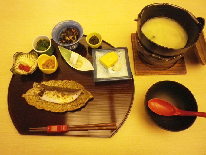 朝食は和食または洋食から