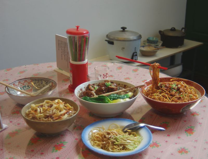 台湾茶アイスやセンスのよいお土産も!レトロな「四四南村」