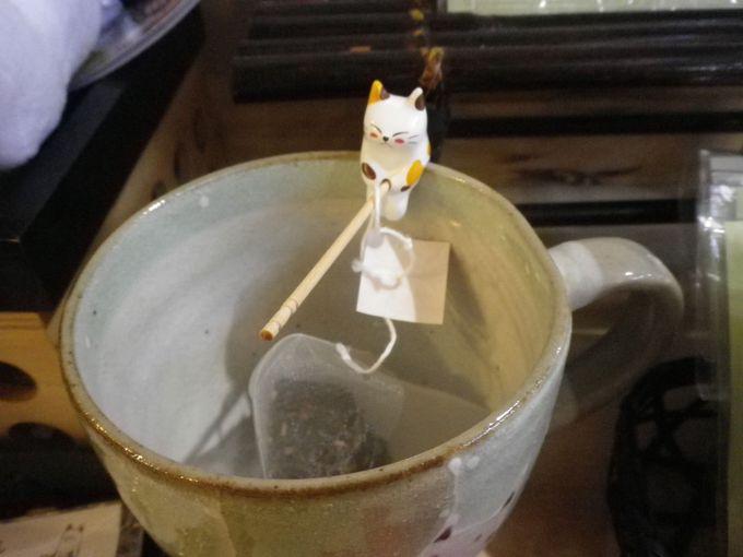 お茶と共に「みたらしちゃん」も是非!