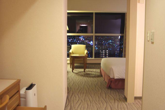 ホテルセンチュリー静岡の客室について