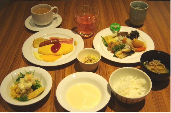 朝食ビュッフェで地元静岡の味が味わえます