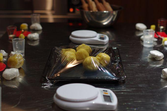台湾式月餅「緑豆椪」手作り体験