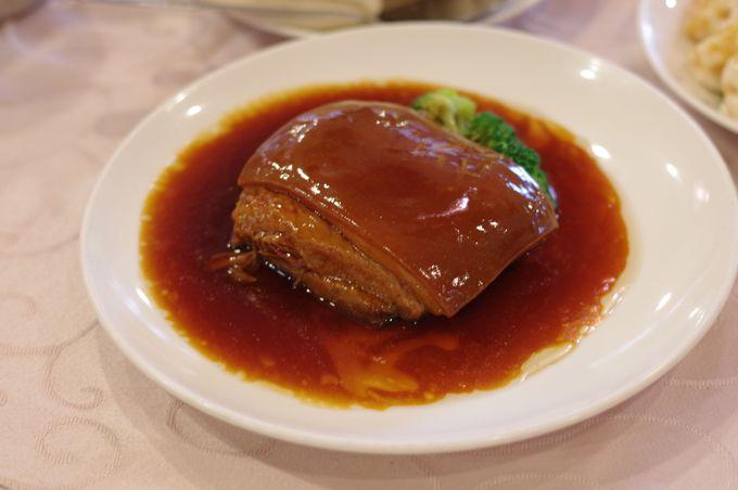 角煮「東坡肉」は必食!