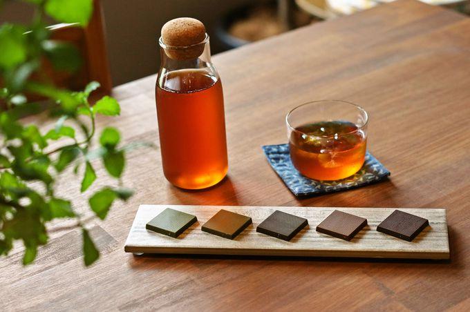 新スイーツ!食べる台湾茶「喫茶COTE」