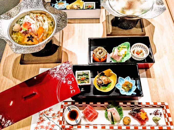 盛り付けも味も楽しめる!夕食&和洋ビュッフェの朝食