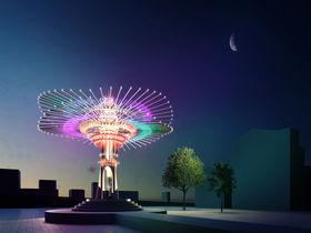 一年に一度の「台湾ランタンフェスティバル」夜に輝く美しい灯を