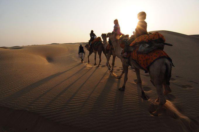 砂漠で必要なものは何?キャメルサファリの準備とスケジュール