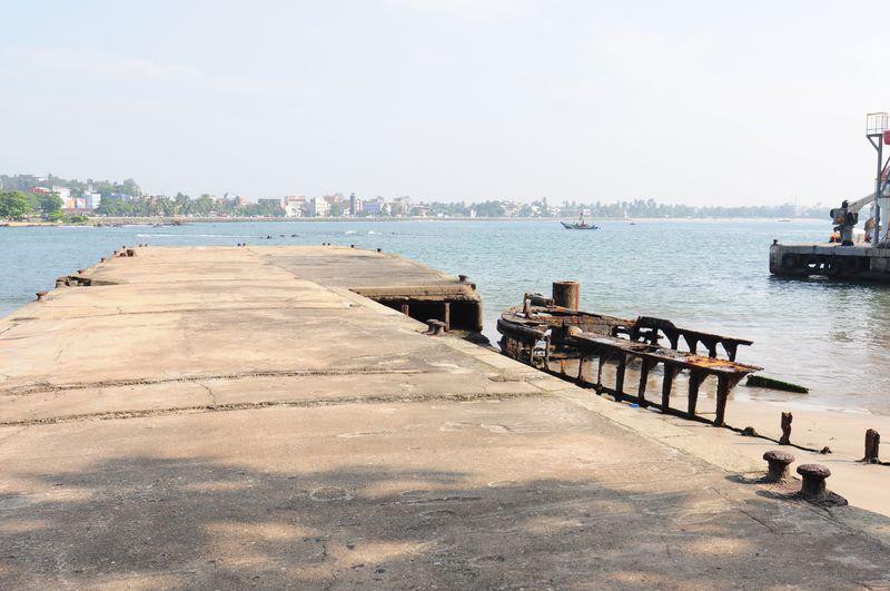 大航海時代におもいをはせる!古い港跡