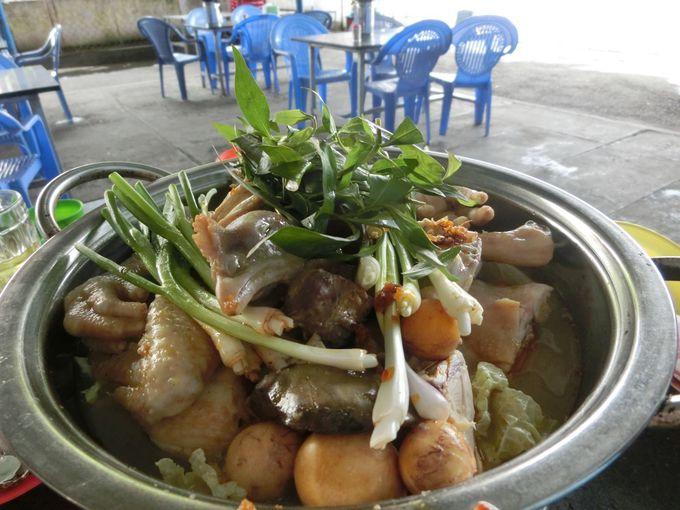 食堂で欠かせない料理が「鍋」!ベトナム人はみんな大好き!!