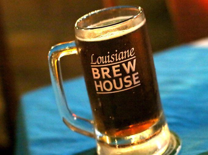 アルコールは自家製のビールがおすすめ!食事も充実