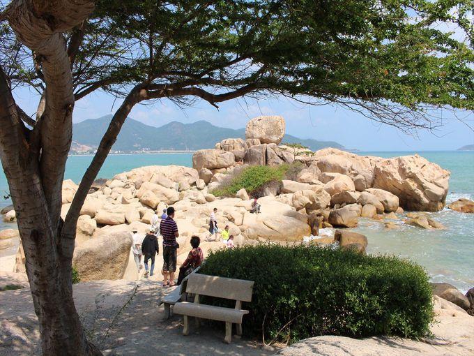 ホンチョン岬を歩く