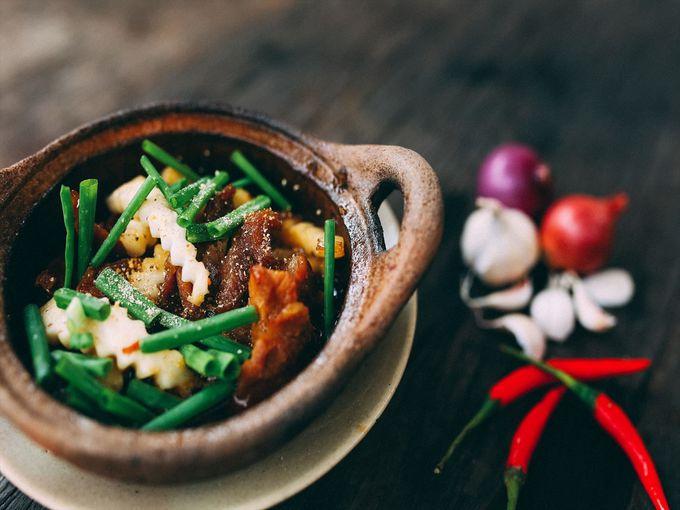 家庭料理や屋台料理をはじめ、ベトナムの大衆料理が揃う