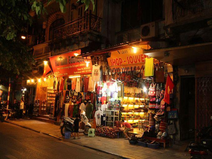 旧市街の夜を歩く