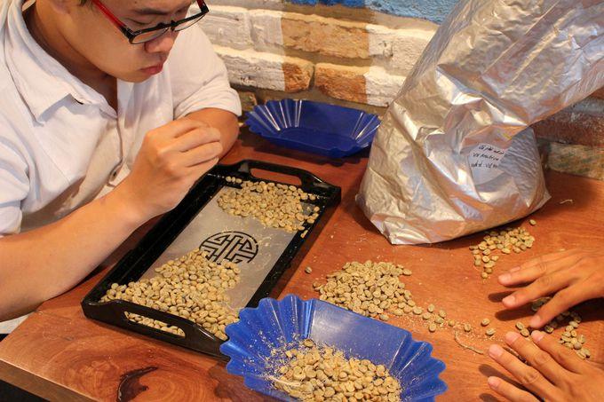生豆を仕入れるこだわりよう