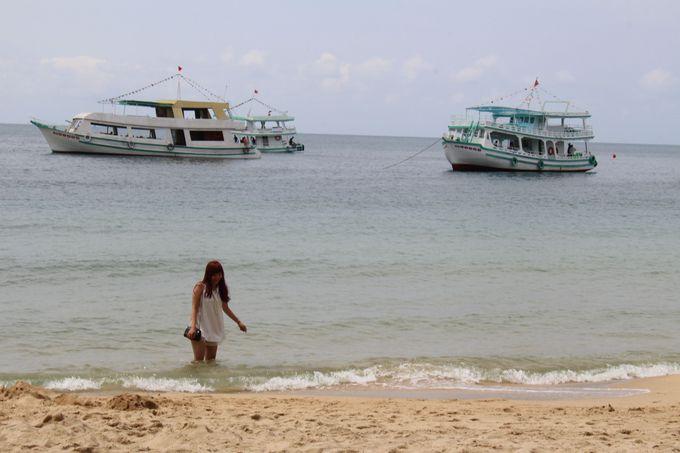 まるでプライベートビーチ!海を独占できる