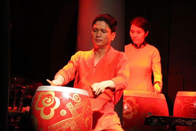 アオザイショーでベトナム人の美に触れる