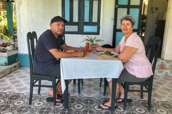 マッサージ後はおいしいベトナム料理を