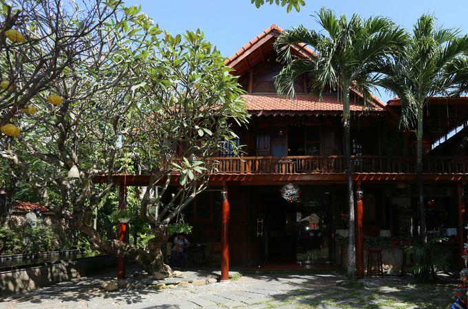ベトナムの山岳民族家屋を再現