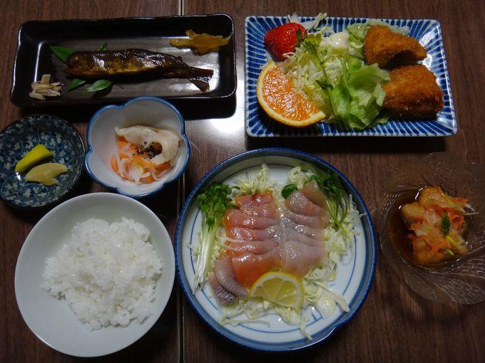 アマゴづくしの夕食!
