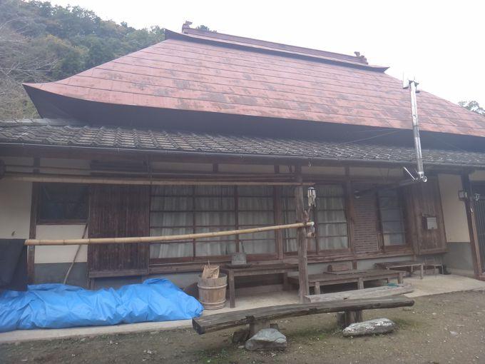 130歳の懐かしい雰囲気の家
