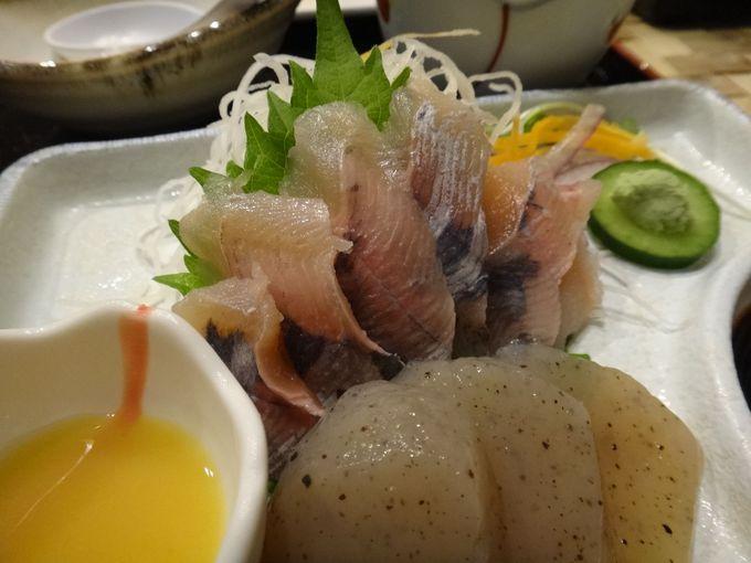 安田川の味を堪能する夕食