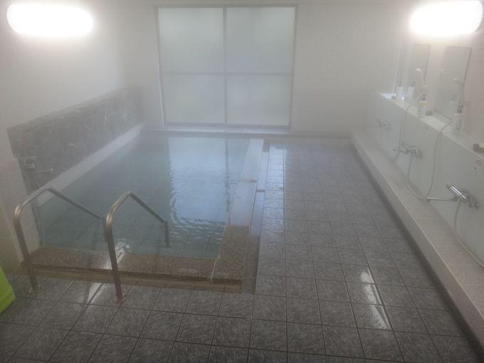 透明のサラッとした畑山温泉の湯