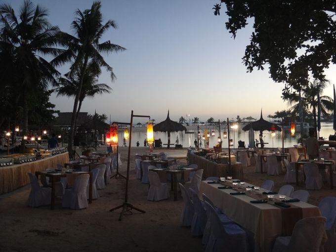 海上シーフードレストランにビーチレストラン!