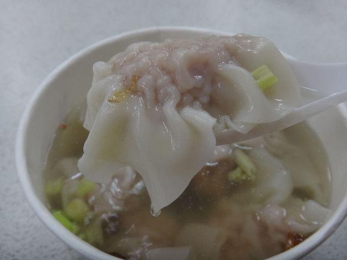 台湾のかつての総統も訪れた液香扁食