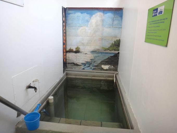 コハイ&コロニアルモーテルのナトリウム泉